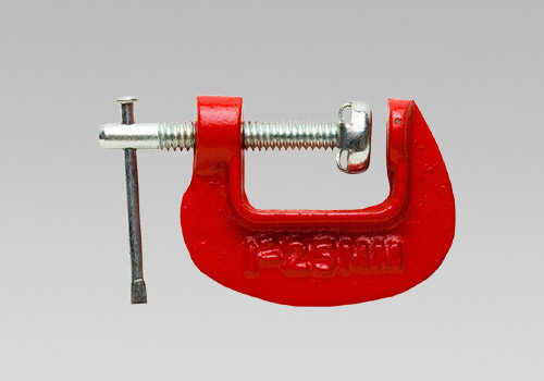 "Miniature Iron Frame 3/4"" C Clamp"