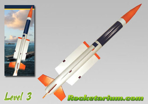Aster Missile Model Rocket Kit