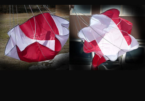 "24"" Six-Panel Ultra-Strength Parachute"