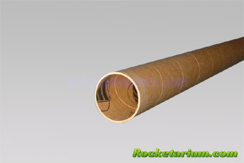 "2.6"" Phenolic Tube. 36"" Long"